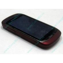 Красно-розовый телефон Alcatel One Touch 818 (Электроугли)