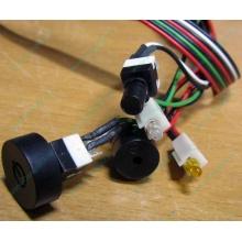 Светодиоды в Электроуглях, кнопки и динамик (с кабелями и разъемами) для корпуса Chieftec (Электроугли)
