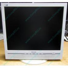 """Б/У монитор 17"""" Philips 170B с колонками и USB-хабом в Электроуглях, белый (Электроугли)"""