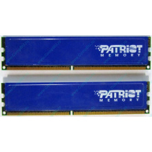 Память 1Gb (2x512Mb) DDR2 Patriot PSD251253381H pc4200 533MHz (Электроугли)
